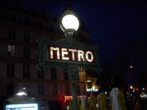 The Paris Metro