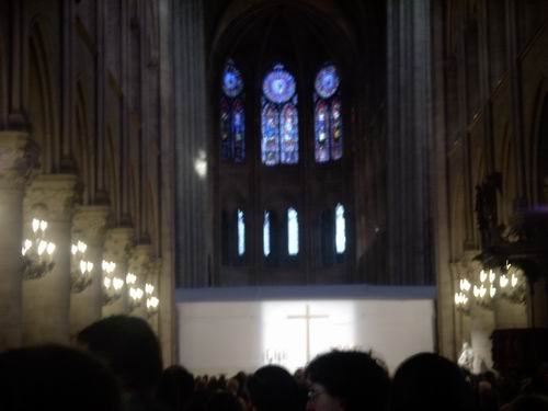Easter Mass at Notre Dame