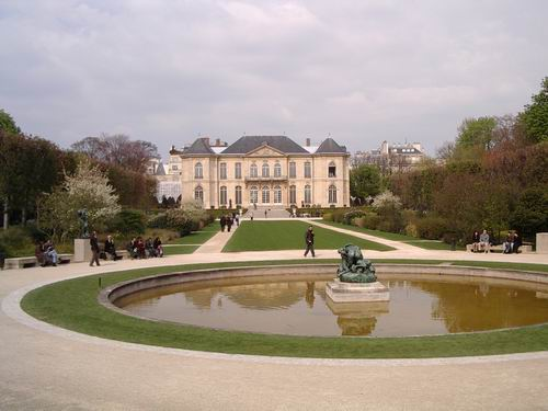 The Gardens of the Rodin Museum